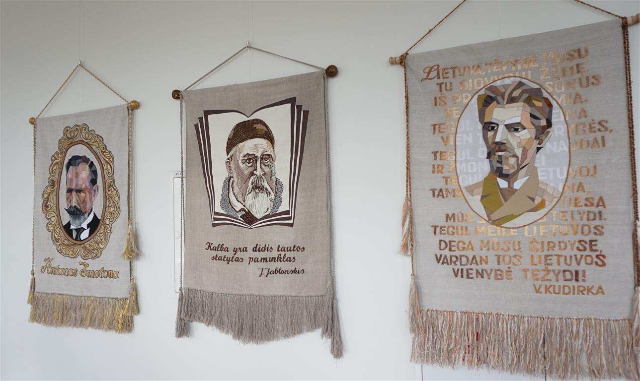 """2020-02-16 Tauragės kultūros rūmuose – paroda """" Lietuvos didieji"""""""