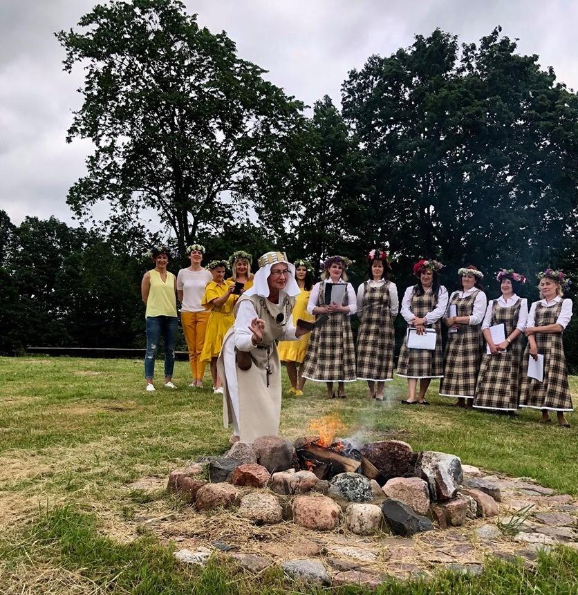 2020-06-21 Tradicinė Joninių šventė Pagramantyje