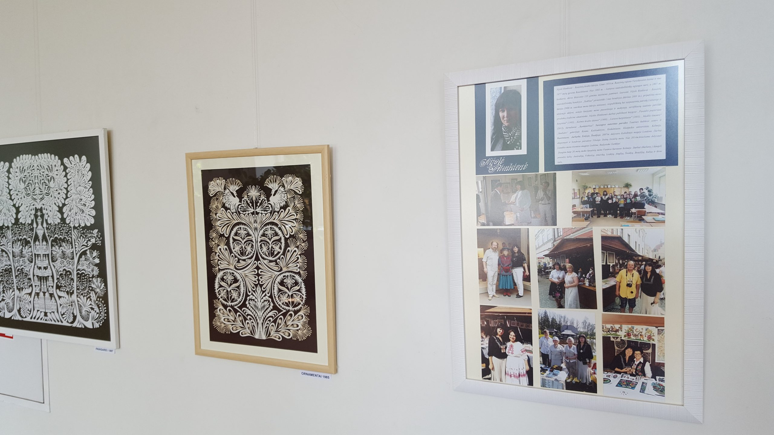 2020-06-12 Tauragės kultūros rūmuose eksponuojama karpinių paroda