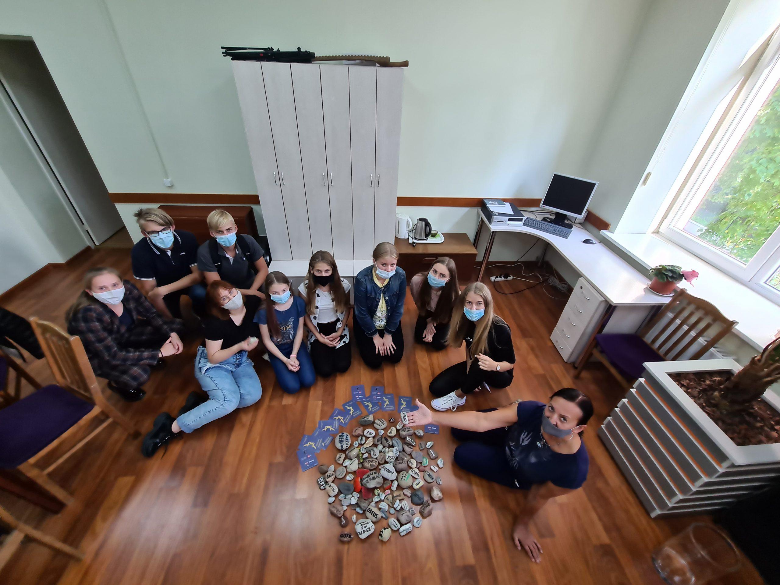 2020-09-16 Tauragės kultūros rūmuose surengta edukacija, skirta žydų paveldui Tauragėje įprasminti