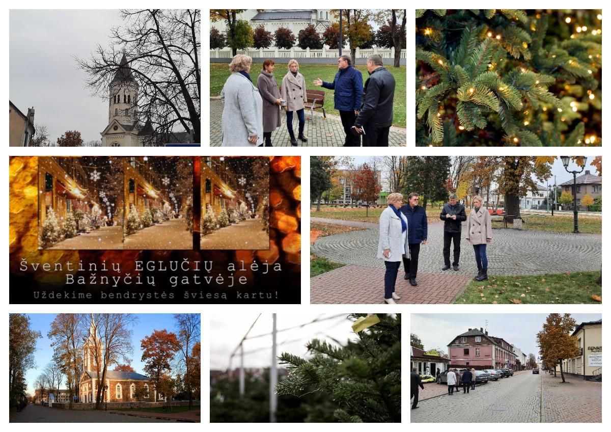 2020-10-28  Tauragėje šventinę dvasią kurs šventinių eglučių alėja – startuoja pasiruošimo darbai