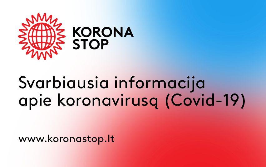 2020-10-22 Koronaviruso infekcijai suvaldyti – papildomos Vyriausybės priemonės laisvalaikio ir pramogų vietose