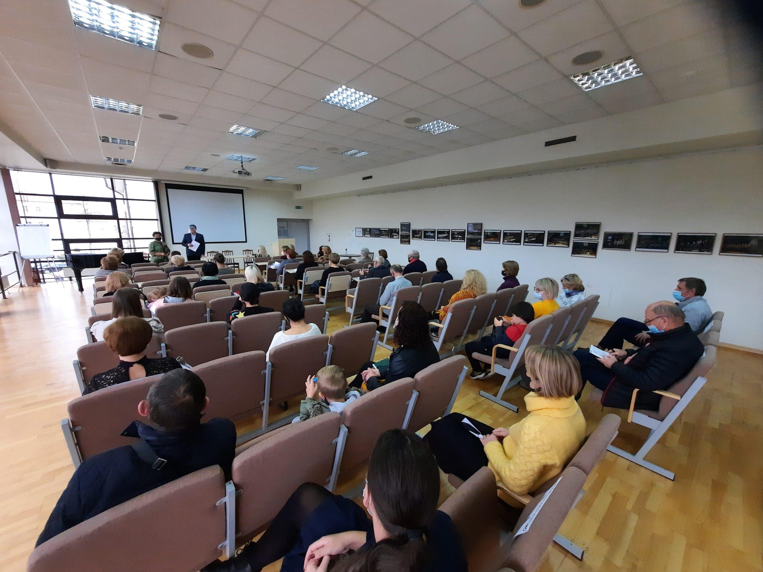 2020-10-27 Susirinkime aptarti kultūros darbuotojams aktualūs klausimai