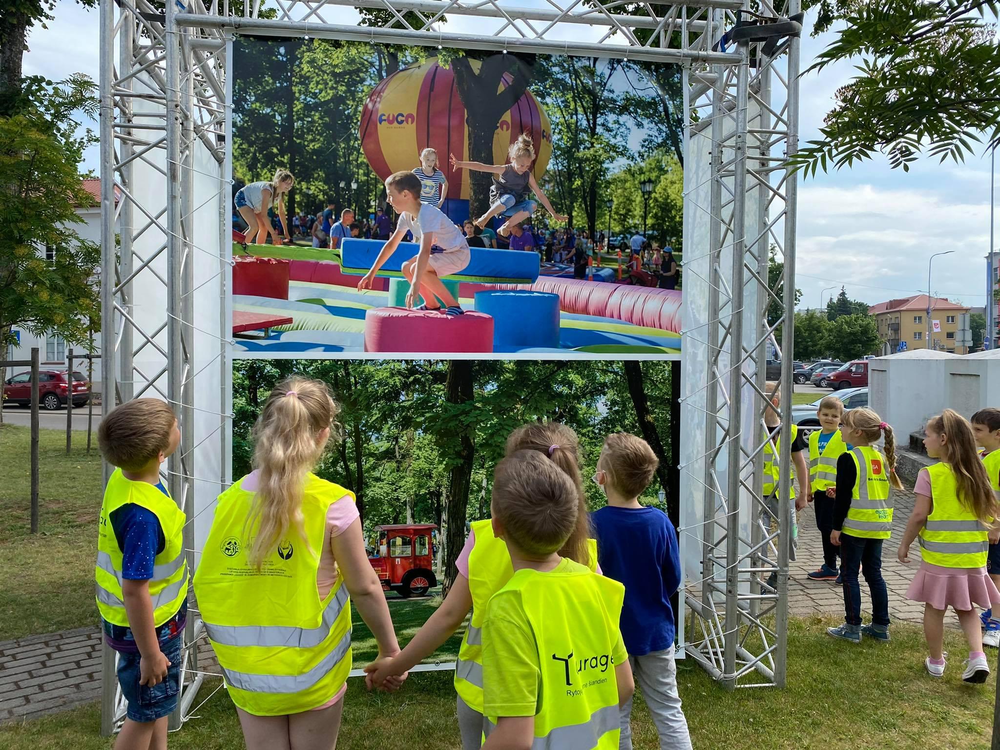 2021-06-14 Tauragės kultūros erdves noriai lanko ir mažieji tauragiškiai