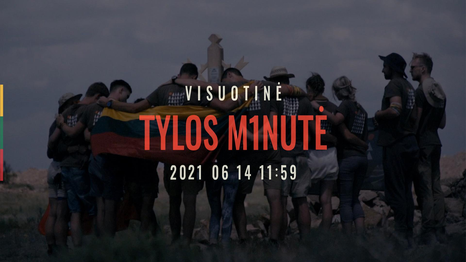 2021-06-12 Kviečiame jungtis prie Visuotinės tylos minutės