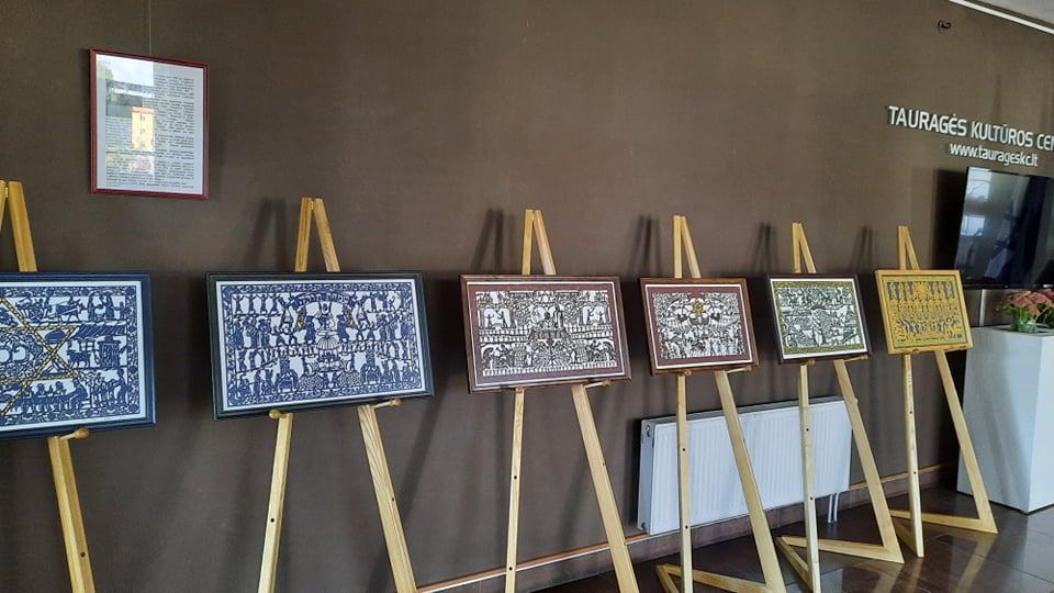 2021-09-14  Tauragės kultūros centre – žydų karpinių paroda